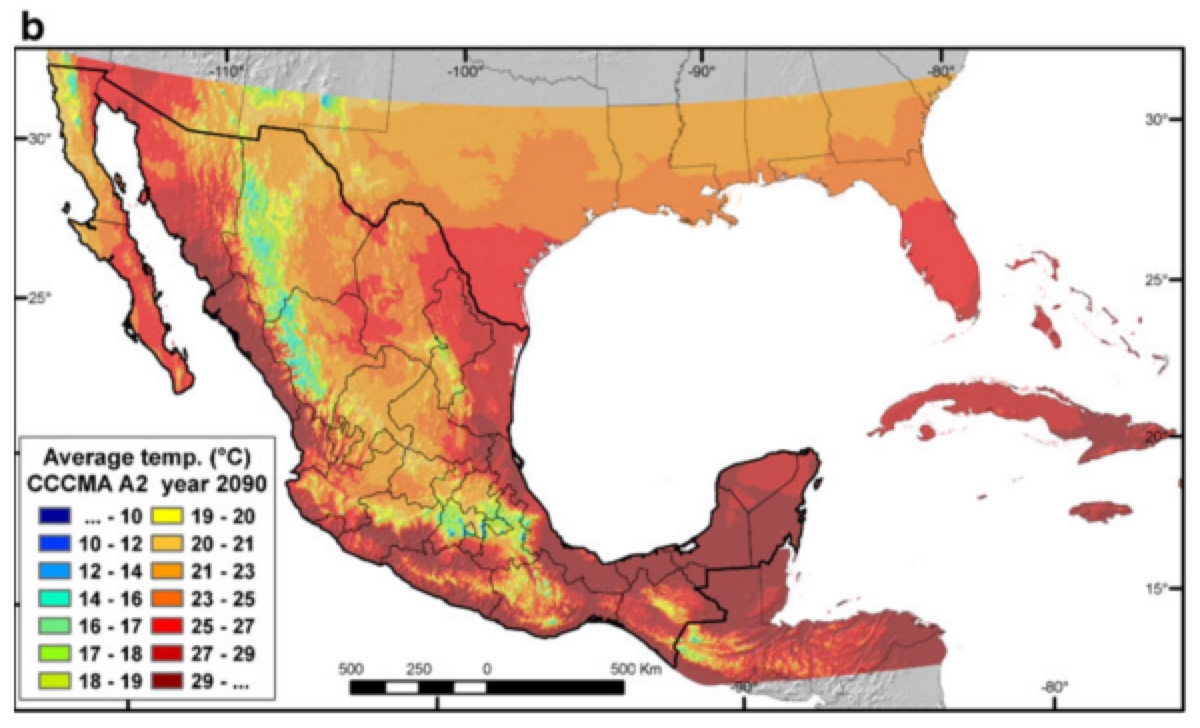 Climate of Mexico