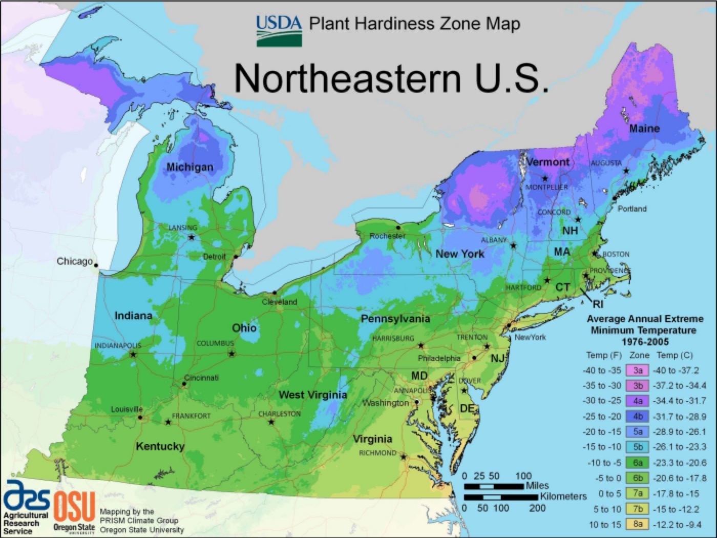 Free Printable Maps Of The Northeastern US Northeastern US Maps - Us map new england